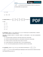 Álgebra Matrizes