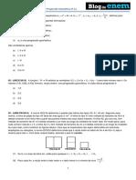 Álgebra Progressão Geométrica PG