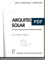 Arquitectura Solar
