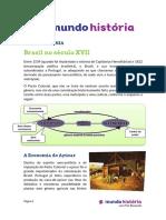 Brasil Seculo XVII