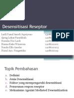 Desensitisasi Reseptor