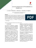 BFD (Produccion de Formaldehido) -DDP