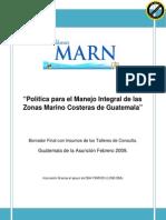 Política Marino Costera