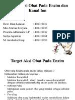 Target Aksi Obat Pada Enzim dan Kanal Ion.pptx