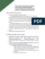 Procedimento Para Realizar Practicas Académicas i 2016