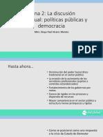 Tema 2.La discusión conceptual Democracia y Políticas Públicas