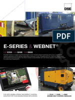 DeepSea E E-Series WebNet Bulletin