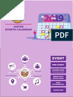 Contoh Kalender event