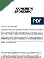 1.1 Concreto reforzado