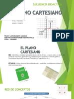 Secuencia Didactica. Plano Cartesiano