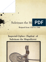 Suleiman the Magnificient