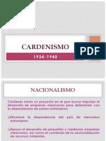 Cardenismo 1934-1940
