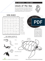 Animal Habitats Ocean