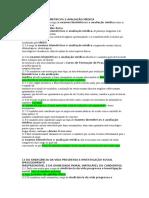 Investigação Social Pregressa e Avaliação Médica