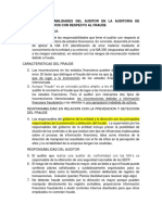 Nia 240 Responsabilidades Del Auditor en La Auditoria de Estados Financieros Con Respecto Al Fraude