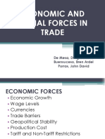 Forces in Trade