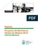 Proyecto de Monitoreo Global de Medios 2015