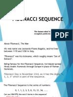 Lecture 2. the Fibonacci Sequence