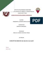Cuadro Comparativo Los Contratos Mercantiles en Las Empresas
