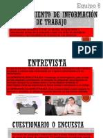 Levantamiento de Información y Grupos de Trabajo