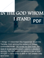 In the God Whom i Stand