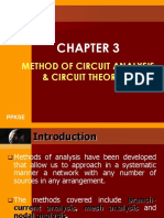 Chapter 3 - Methods of Circuit Analysis and Circuit Theorems