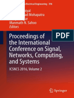 Proceedings of the International Conference on Signal Networks, Computing and Systems