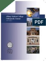 2010 Orthopaedic Journal