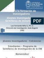 Jóvenes Investigadores - Colciencias