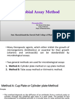 Microbiological Assay KDB