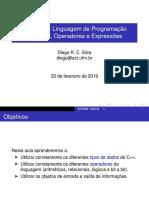 aula03 linguagem de programação