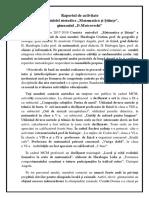 +Raportul de  activitate a comisiei metodice. Matematică (1)