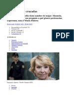 Aguirre en Las Cruzadas Elvira Lindo