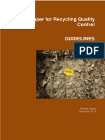 PaperforRecyclingQuality Control GuidelinesWITHANNEX - (Are La Baza EN643)
