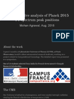 Comprehensive Analysis of Planck 2015 TT Spectrum Peak Positions