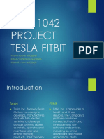 EIC analysis of tesla and fitbit