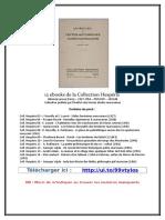 Collectif - 12 eBooks de La Collection Hespéris
