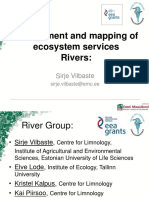 Assessment and Mapping Ecosistem Services