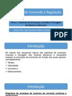 Sistemas de Arranque, Inversao e Frenagem Dos Motores Electricos