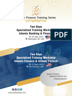 Two Days Specialized Training Workshop on Islamic Banking & Finance in Washington, DC. USA