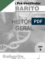 História Geral - Pré-Vestibular Dom Bosco - gab-hig-ex5