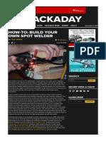 How-To_ Build Your Own Spot Welder _ Hackaday