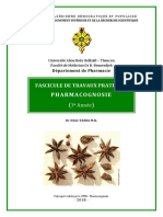 Fascicule de TP-Pharmacognosie 2018