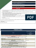 Formulário - Revisão Normas