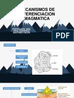 Mecanismos de Diferenciacion Magmatica
