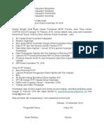 Permintaan Data Utk FKTP