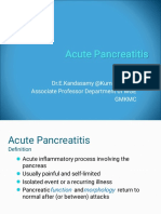 Acute Pancreatitis New