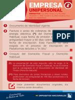 REQUISITOS - EMPRESA UNIPERSONAL.pdf