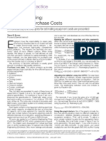 Cost Engineering - Equipment Purchase Costs