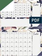 CALENDARIO 2019 A4 MENSUAL MAISON DE FLEURS.pdf